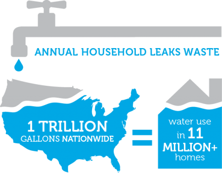 Information About Annual Household Water Leaks Waste