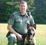 DFC Billy Hurst and K9 Major