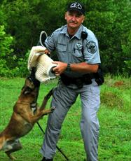 Officer with dog