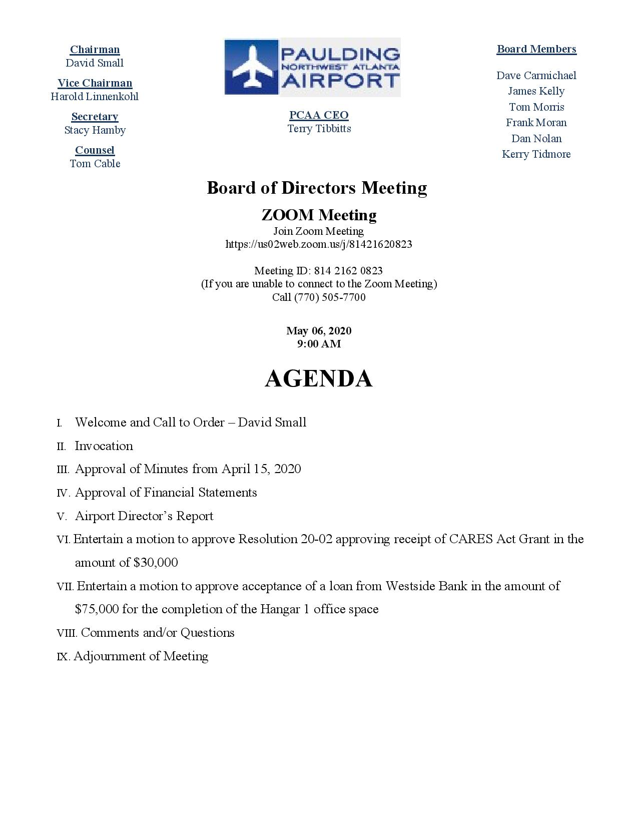 05.06.20 PCAA Agenda.Called Meeting-page-001