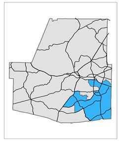 Commissioner Post 3 Map